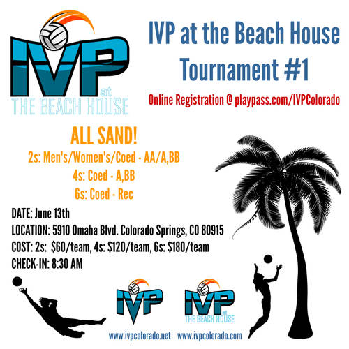 2020 IVP at the Beach House Tournament #1 - ALL SAND!