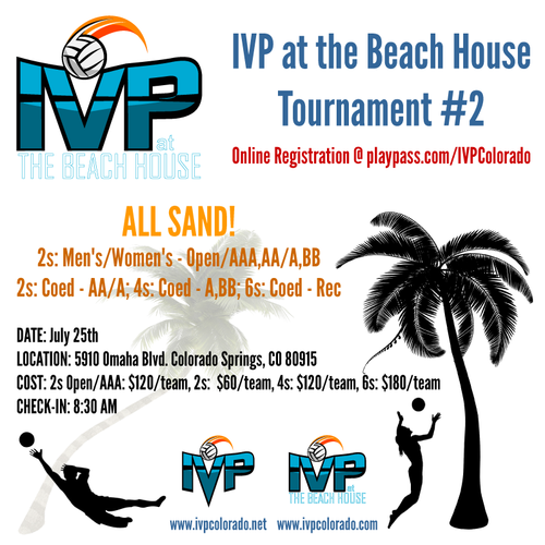 2020 IVP at the Beach House Tournament #2 - ALL SAND!