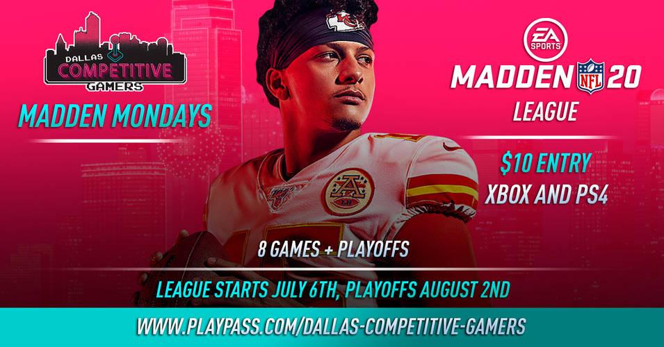 DCG Madden Monday League!