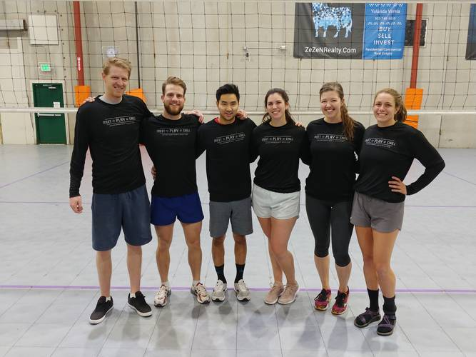 Session 4 '20 - Denver Tuesday Advanced Volleyball Coed 6's