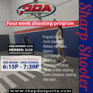 Sharp Shooter [Four week shooting program]