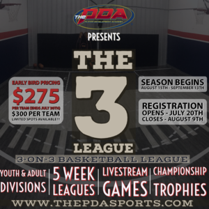 The 3 League (Adult 18+)