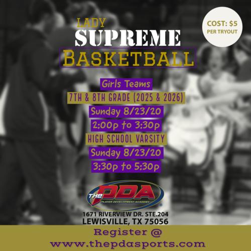Basketball Event