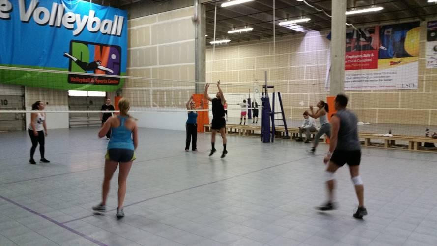 12/12/20 Indoor Tournament - Reverse Coed 4's Tournament