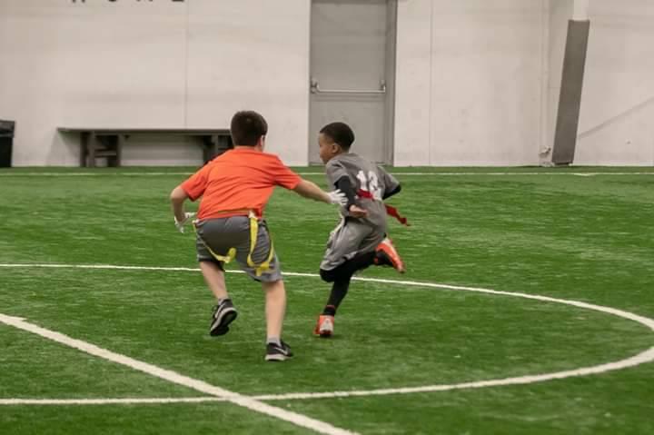 Indoor Flag Football Training Fall 2020
