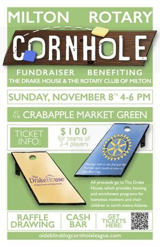 Rotary Club of Milton Cornhole Tournament