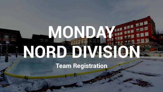 Team Registration - Monday Nord Division
