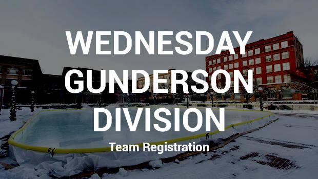 Team Registration - Wednesday Gunderson Division