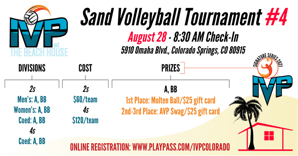 2021 IVP at the Beach House Tournament #4 - ALL SAND