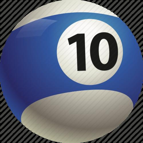 EBN 10 Ball Tournament - 6 games per player