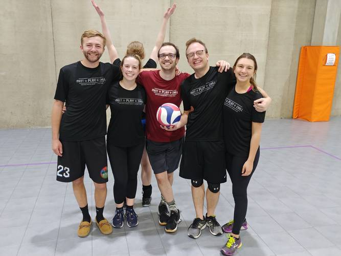 Session 3 '21 -  Denver Tuesday Volleyball Coed Advanced 6's