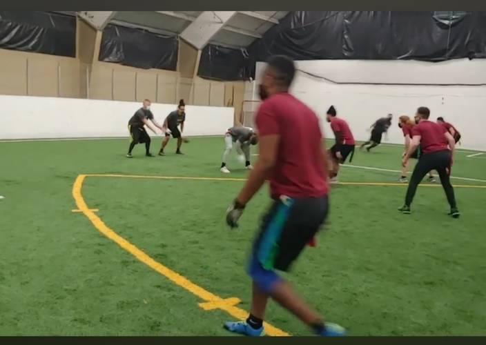 Adult 5 v 5 Flag Football League