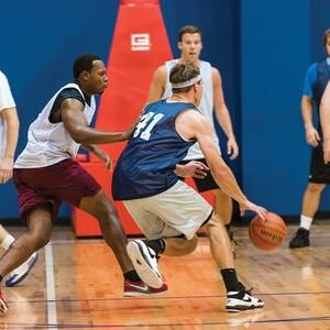 Session 4 '21 - Aurora Tuesday Mens 5's Advanced Indoor Basketball