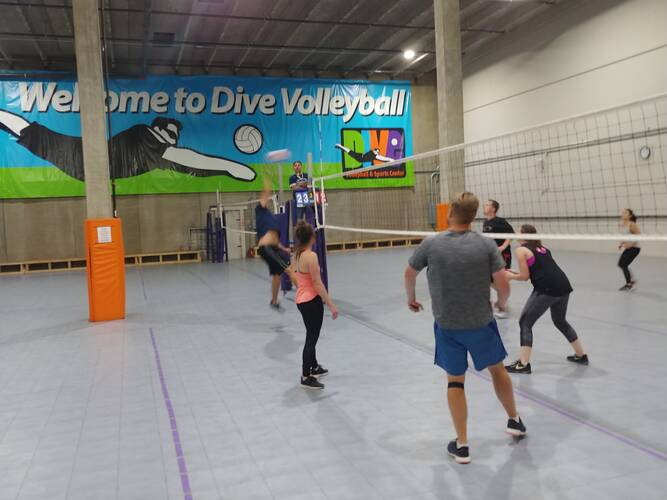 Session 4 '21 -  Denver Wednesday Volleyball Coed Intermediate 4's