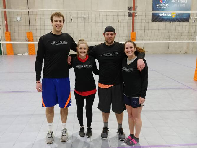Session 4 '21 -  Denver Tuesday Volleyball Coed Interm./Adv  4's