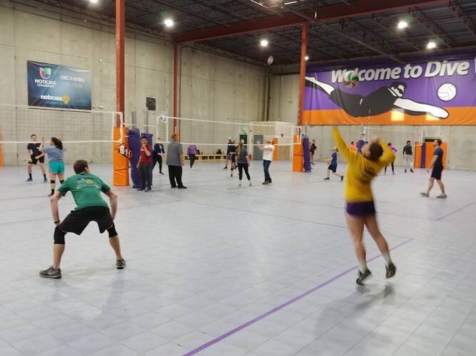 Session 4 '21 -  Denver Wednesday Volleyball Coed Intermediate 6's