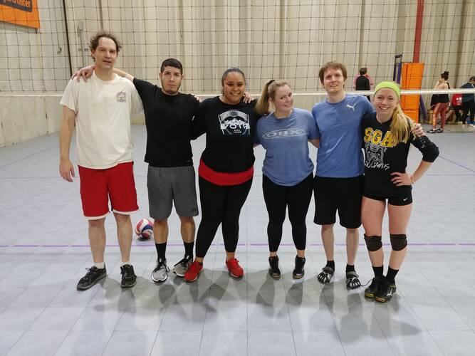Session 4 '21 -  Denver Tuesday Volleyball Coed Advanced 6's