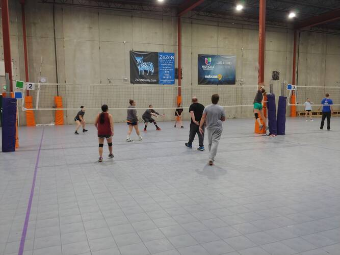 Session 4 '21 -  Denver Tuesday Volleyball Coed Intermediate 6's