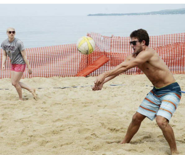 Competitive Coed Volleyball League