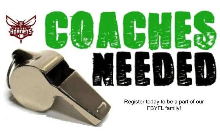 FBYFL Football/Fall Cheer Coach Registration