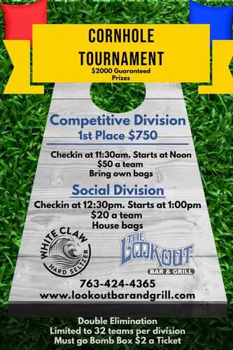 Cornhole Tournament June 26