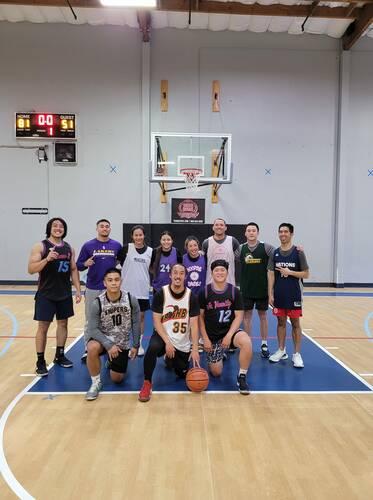 Sunday Night Coed Basketball League