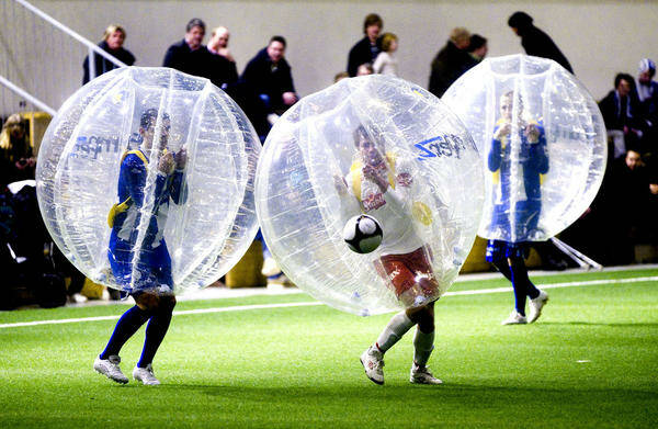 Saturday Night Coed Indoor Recreational BUBBLE SOCCER @ Angry Horse S6 '21