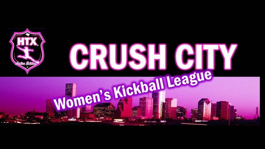 CRUSH City Women's Kickball League