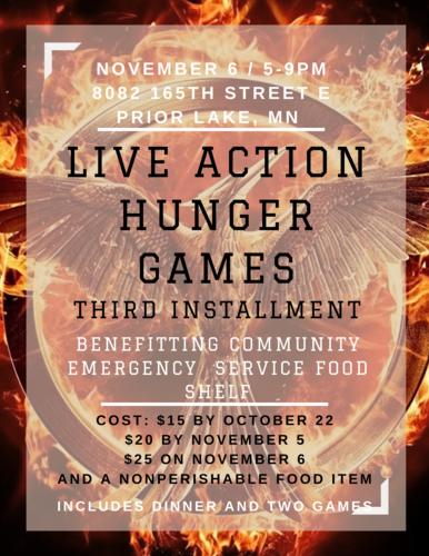 Live Action Hunger Games: Third Installment
