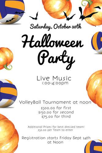 Halloween Volleyball Tournament