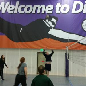 Tues Dive Intermediate 6s - Indoor Hard Court Volleyball League - Denver