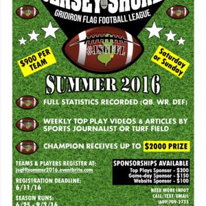 Summer 2016 Flag Football League