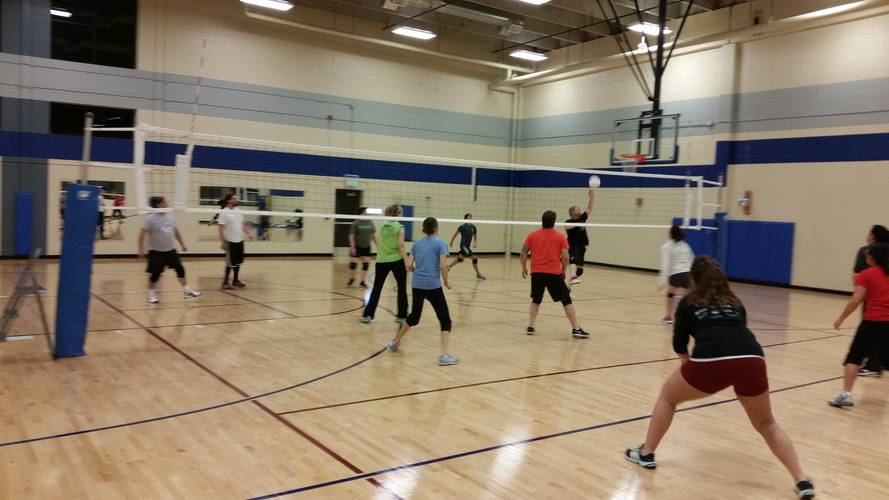 Session 1 - Westminster Monday Recreational Indoor Volleyball Coed 6's