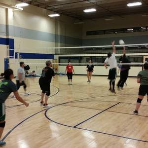Session 1 - Westminster Thursday Advanced Indoor Volleyball Coed 6's