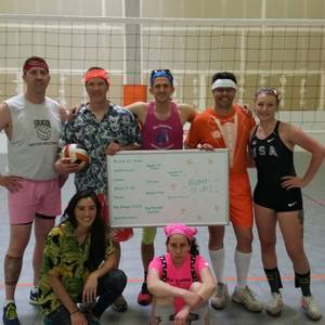 Session 2 - LoDo Wednesday Recreational Indoor Volleyball Coed 6's