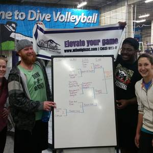 Session 2 - LoDo Wednesday Intermediate Indoor Volleyball Coed 6's