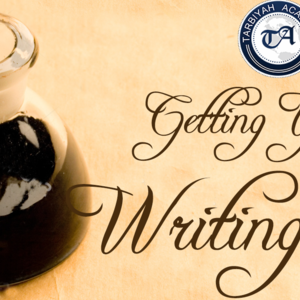 Getting Your Writing Fix