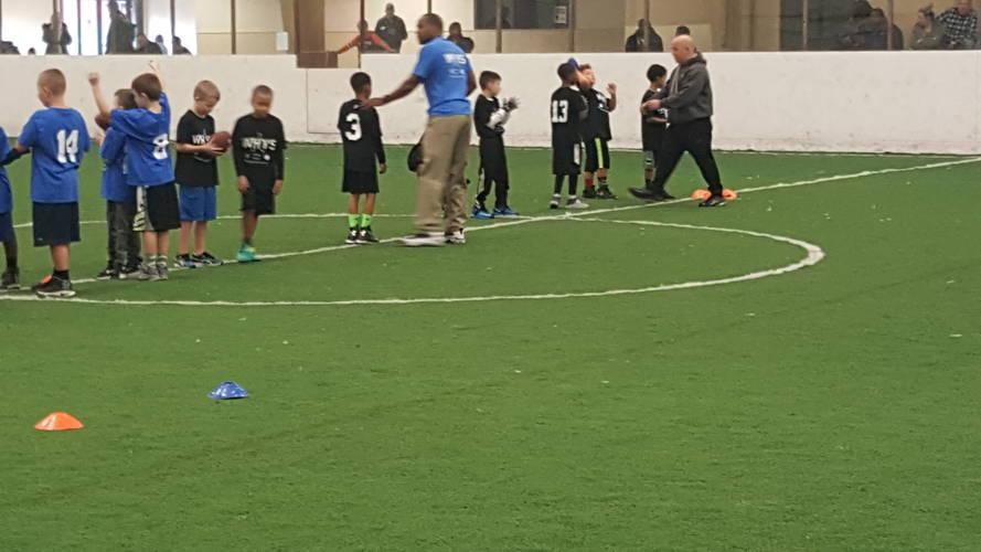 March Indoor Flag Football Program
