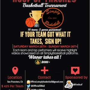 Simply Basketball $1000 CASH PRIZE Tournament
