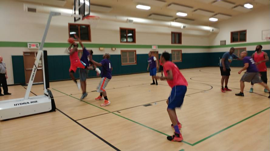 Adult Men Basketball League