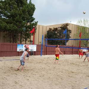Grand Opening Party!  Sand Volleyball and Free Food!