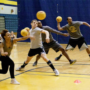 Session 4 - Friday Sand Coed Dodgeball League