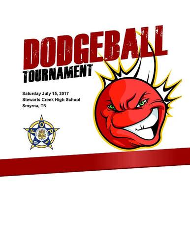 2017 Stones River FOP Charity Dodgeball Tournament