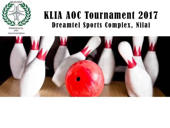 KLIA AOC Bowling Tournament 2017