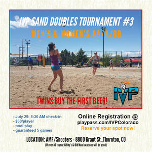 IVP Sand Volleyball Tournament #3