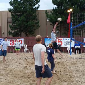 Session 5 - Sunday Double Header Sand Coed Volleyball League