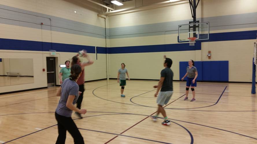 Session 5 - Westminster Monday Recreational Indoor Volleyball Coed 6's