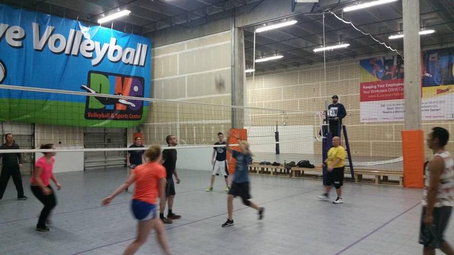 Session 5 - Denver Wednesday Intermediate Indoor Volleyball Coed 6's