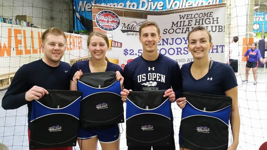 Session 5 - Denver Wednesday Int/Adv Indoor Volleyball Coed 4's
