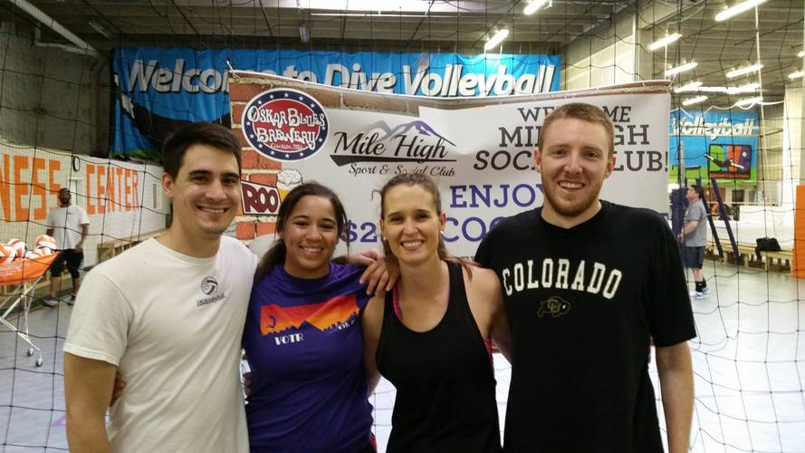 Session 5 - Denver Thursday Advanced Indoor Volleyball Coed 4's